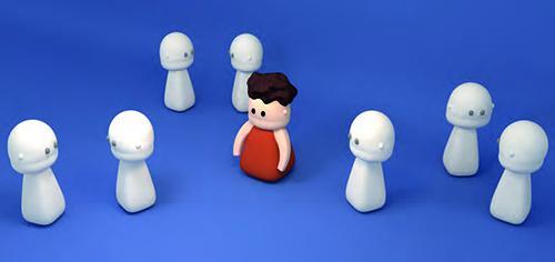 Autismus - soziale Umgebung